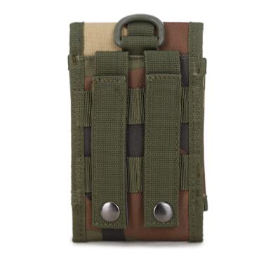 Riemtas Telefoontas Buckle Camouflage Donker