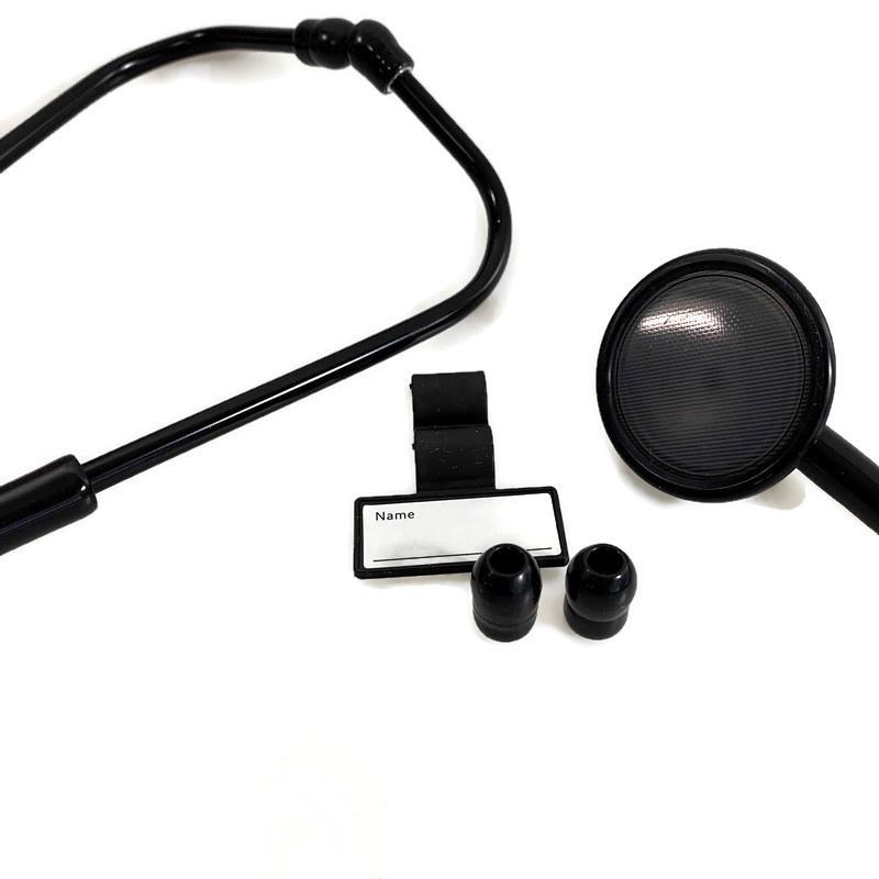 Classic Stethoscoop - Single Head - full Black