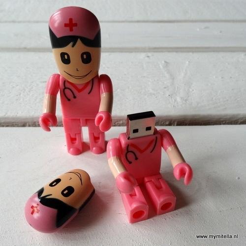USB stick zuster Pink
