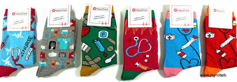 Happy2Care sokken voor echte helden