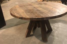 Tafel rond (mix wood)140 ø 895,00
