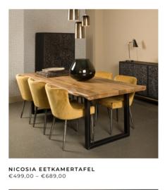 Tafel Nicosia 180 cm 499,00