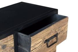 Dressoir driftwood met metaal 899,00