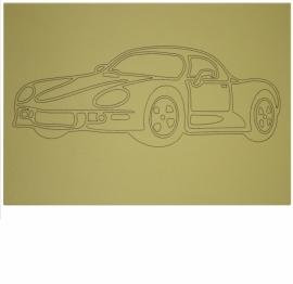 Kleurplaat auto 5
