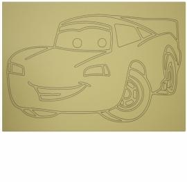 Kleurplaat auto 3
