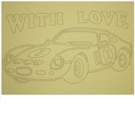 Kleurplaat auto 6