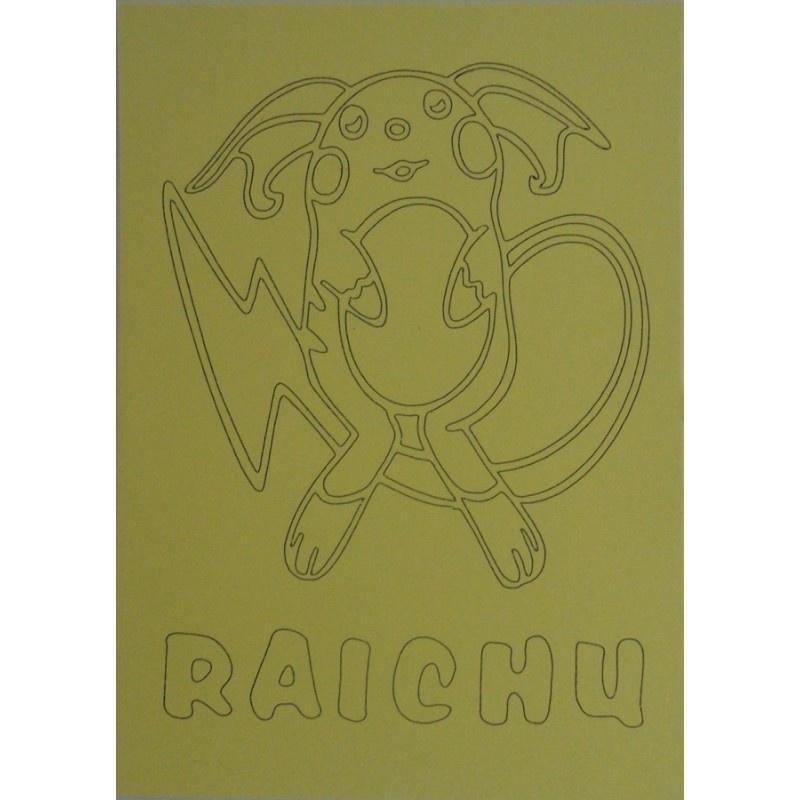 Pokemon Kleurplaten Raichu.Kleurplaat Pokemon Raichu Bekend Tv Figuren Feestje