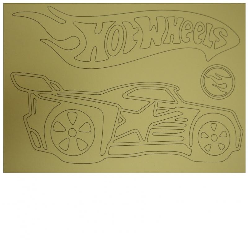 Kleurplaat auto 1