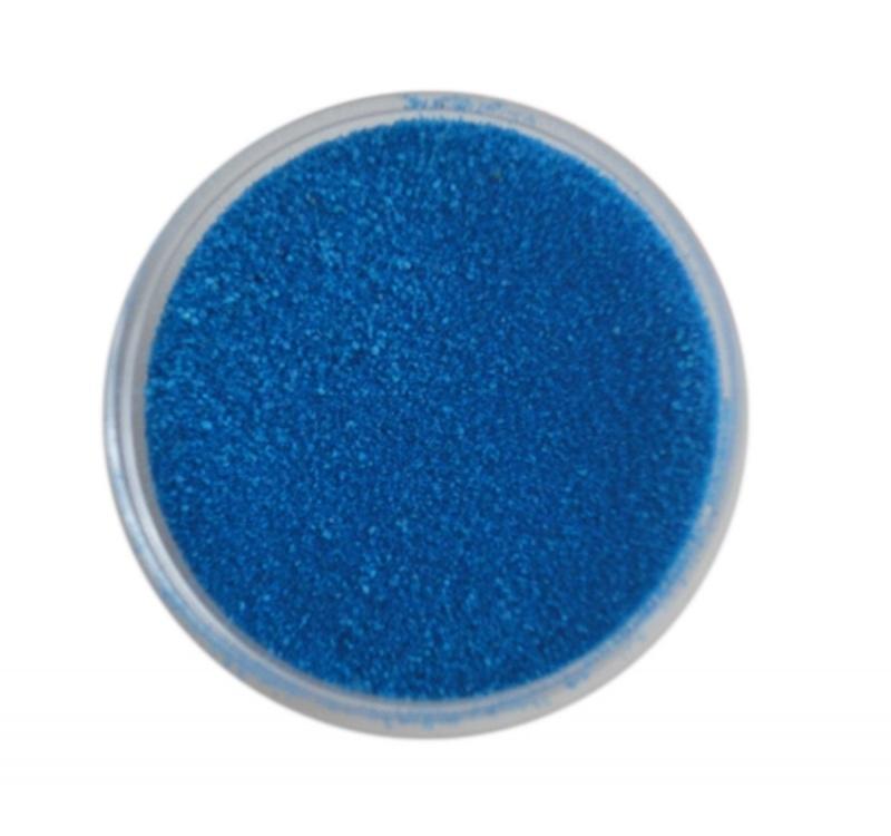 Creazand blauw