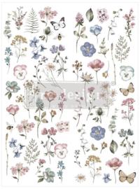 Decor Transfer Delicate Fleur