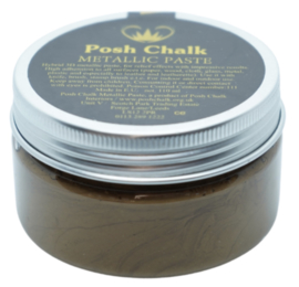 Posh Chalk Metallic Paste - Deep Gold 110ml