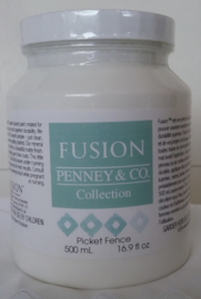 Fusion Mineral Paint Picked Fence