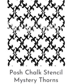 Posh Sjabloon Mystery Thorns 21 x 30 cm