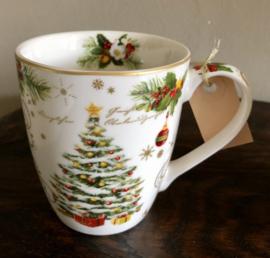 Kerst Mok Kerstboom 9,5(h)cm