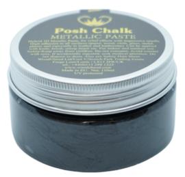 Posh Chalk Metallic Paste - Black Carbon 110ml