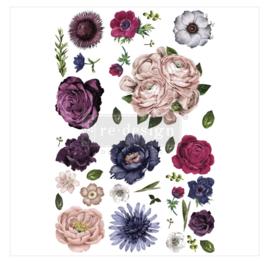 Decor Transfers Lush Floral 2 ca. 1.21 x 81 cm