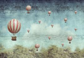Balloons - Mint by Michelle decoupage papier-A3