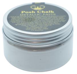Posh Chalk Metallic Paste - White Titanium 110ml