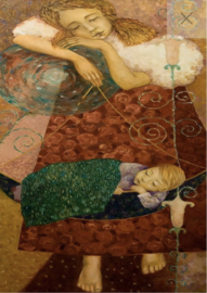 Sleep - Mint by Michelle decoupage papier -A3