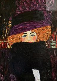 Purple Hat - Mint by Michelle Decoupage papier-A3