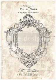 Decor Transfer Antique Imprint ca. 66 x 91 cm