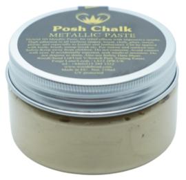 Posh Chalk Metallic Paste - Light Gold 110ml