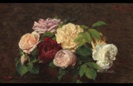 Nieuw Rustic Roses A3 Posh Chalk Deluxe Decoupage