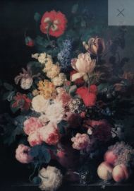 Renaissance Flowers-Mint by Michelle decoupage -A3