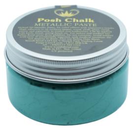 Posh Chalk Metallic Paste - Green Fhthalo 110ml