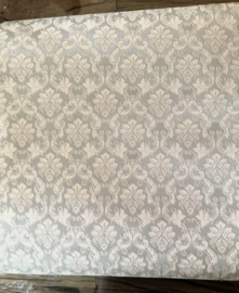 Luxe Behang Blauw Creme 52(b) x 29,5(h) cm