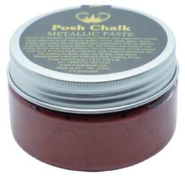 Posh Chalk Metallic Paste - Red Alizarin 110ml
