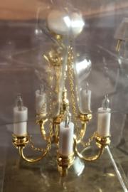 Kroonluchter 5-lamps 12volt