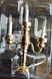 Tafel Kroonluchter 3-lamps 12 volt