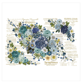 Decor Transfer Cosmic Roses ca. 1.11 x 76 cm