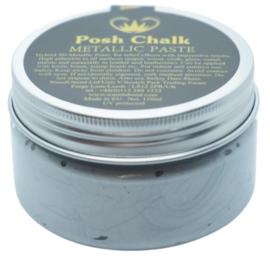 Posh Chalk Metallic Paste - Pearl Silver 110ml