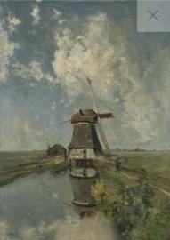 Windmill - Mint by Michelle Decoupage papier-A3