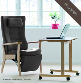 Farstrup Deense  ergonomische relaxfauteuil - model Plus met voetensteun