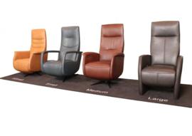 Top 5 - Draai fauteuil New Fabulous Five, ergonomisch zitten -  van maat XS tot XL voor vele jaren zitplezier