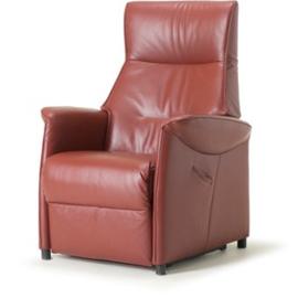 Sta op fauteuil Breukelen, met perfect zitcomfort maat M dik rundleder Elektrisch verstelbaar  - met introductie korting