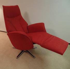 Relaxfauteuil Twice  met 3 motors en een accu - elektrisch verstelbaar met kantelstand