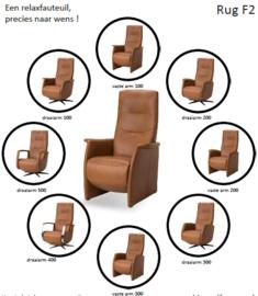 Voorbeeld van The New Fabulous Five Relaxfauteuil met rug nr 2