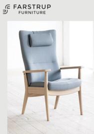 Farstrup Deense ergonomische fauteuil -Plus met hoge rug