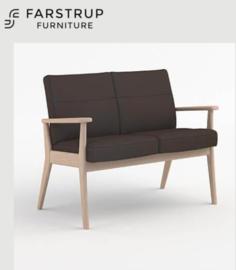 Farstrup Deense ergonomische bank en fauteuil model Plus