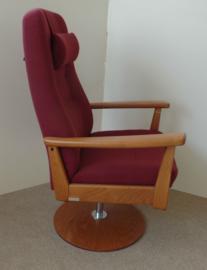 Farstrup Deense ergonomische draaifauteuil - Plus, direct leverbaar  in wollen stof