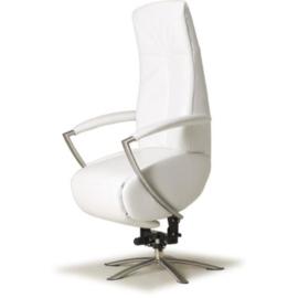 Sta-op Stoel Abcoude,  draaifauteuil moderne vormgeving  met 3 motors - Nederlands Design, perfect zitcomfort