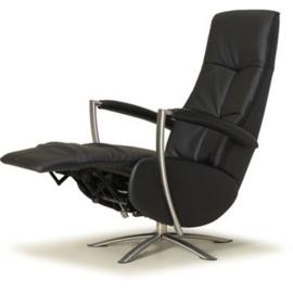 Draai sta-op fauteuil Zeist, moderne vormgeving elektrisch verstelbaar met 3 motors, een ongekende luxe met perfect zitcomfort