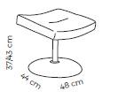 Farstrup Deense ergonomische draaifauteuil - model Plus