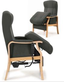 Senioren Comfort fauteuil uit Scandinavië, mode;  Wijk bij Duurstede, elektrisch bedienbaar opsta zitting