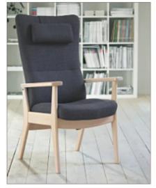 Deense Farstrup Quick Shipment  fauteuil, model Plus - goed zitten en makkelijk opstaan  levertijd  2 weken