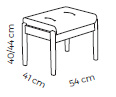 Farstrup Deense design comfort fauteuil model Casa